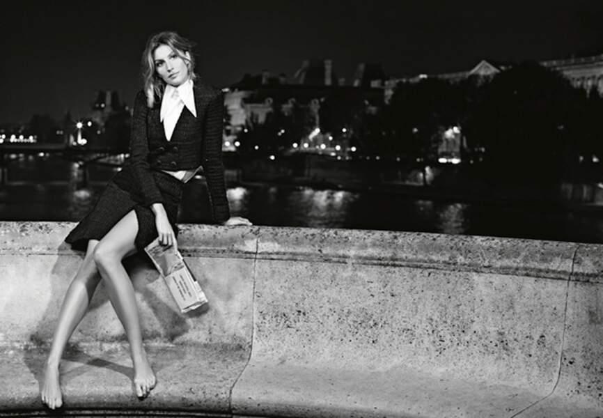 Gisele Bündchen pour la campagne printemps-été 2015 de Chanel