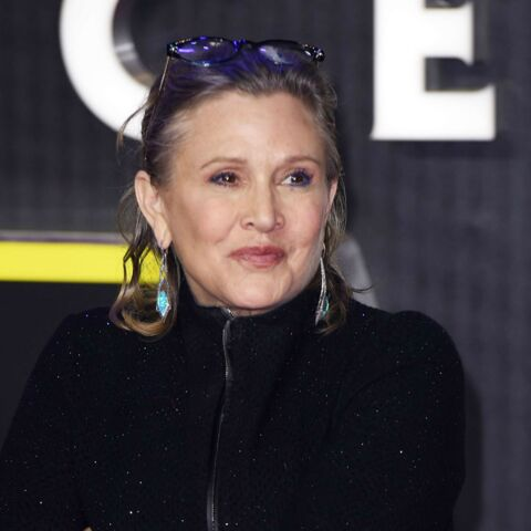 Carrie Fisher touchée au coeur