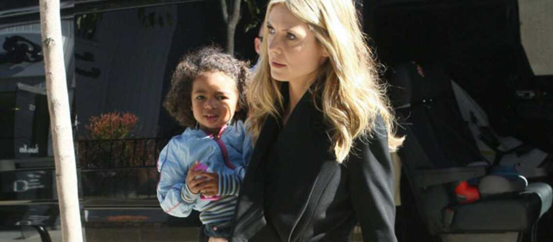 Photos- Heidi Klum, mère courage face à la séparation