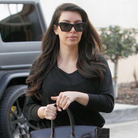 Kim Kardashian, back to gym