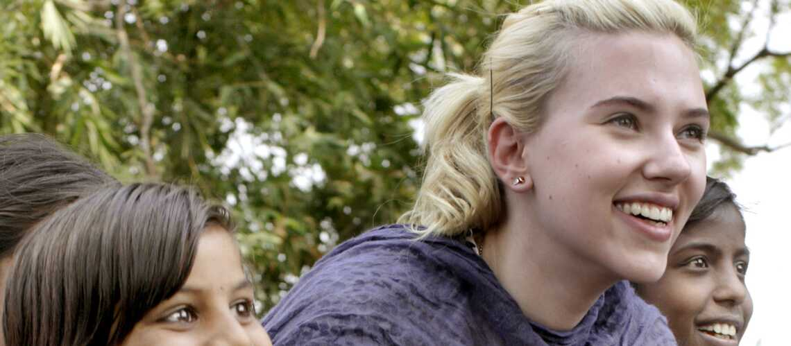 Scarlett Johansson quitte l'ONG Oxfam