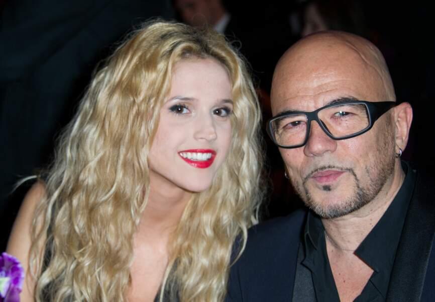 Pascal Obispo et sa compagne Julie