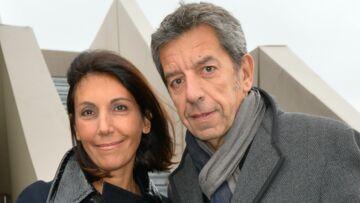 PHOTOS – Michel Cymes et son épouse Nathalie, assortis pour une sortie en amoureux