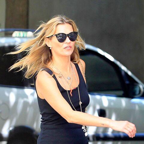 Kate Moss plane après sa détox