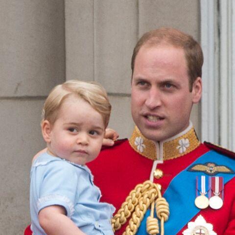 Pour le prince William, George «a reçu trop de cadeaux»
