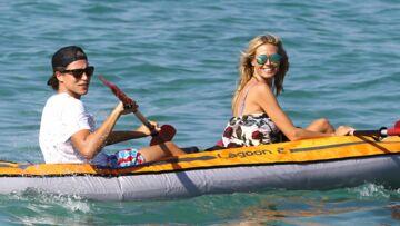Heidi Klum et Vito Schnabel roucoulent à Saint Tropez