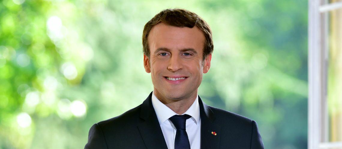 PHOTOS – la passion d'Emmanuel Macron pour les cordons bleus inspire un artiste