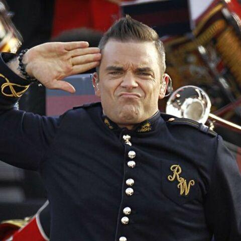 Robbie Williams est déjà gaga de sa fille
