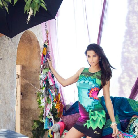 Photos – Adriana Lima pour Desigual, le making-of