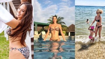 PHOTOS – Iris Mittenaere, Ashley Graham, Cristina Cordula… C'est l'été, les stars en bikini