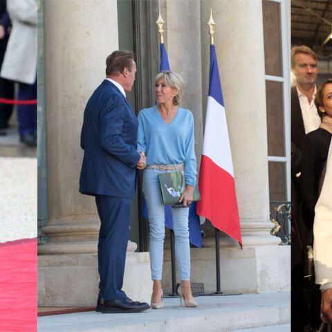 PHOTOS – Brigitte Macron: la raison pour laquelle elle porte autant de bleu nattier