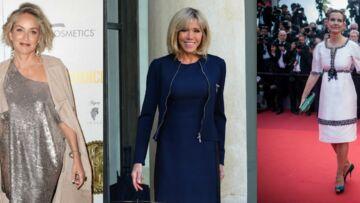 PHOTOS – Brigitte Macron, Sharon Stone, Carole Bouquet… Toutes sexy à la soixantaine!