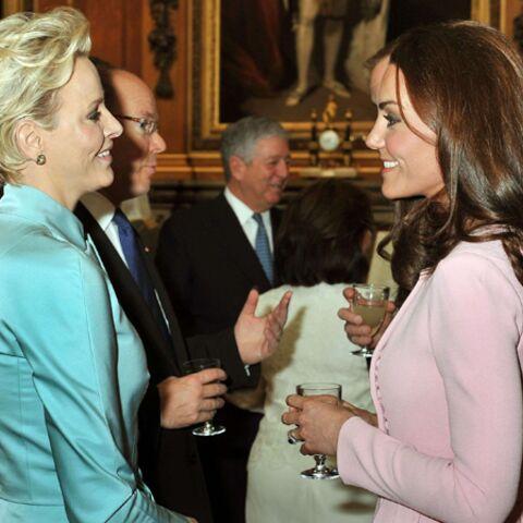 Kate Middleton et Charlène de Monaco: la complicité de deux princesses modernes