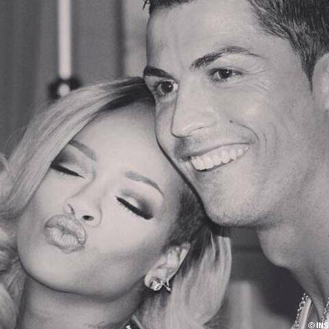 Rihanna fait risette à Ronaldo
