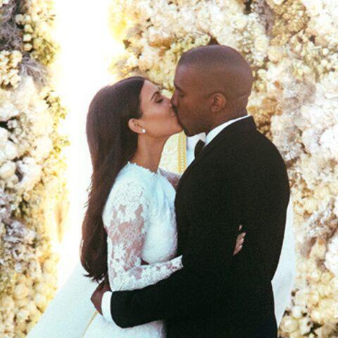 Kanye West et Kim Kardashian, leur mariage en chiffres