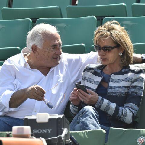 Dominique Strauss-Kahn et Myriam L'Aouffir: en double à Roland Garros