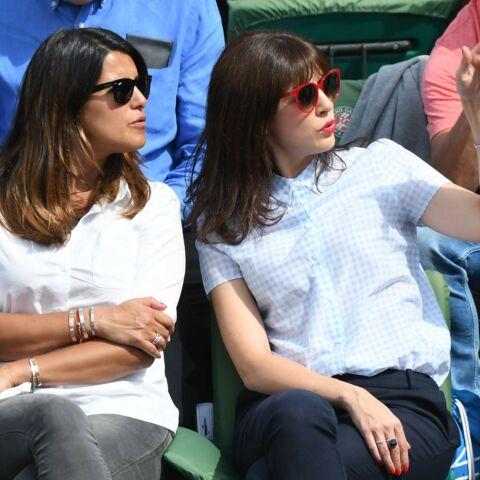 Karine Ferri et Nolwenn Leroy copines à Roland Garros