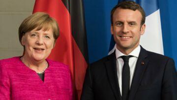 """Le """"couple"""" Merkel Macron hérite d'un petit surnom craquant"""