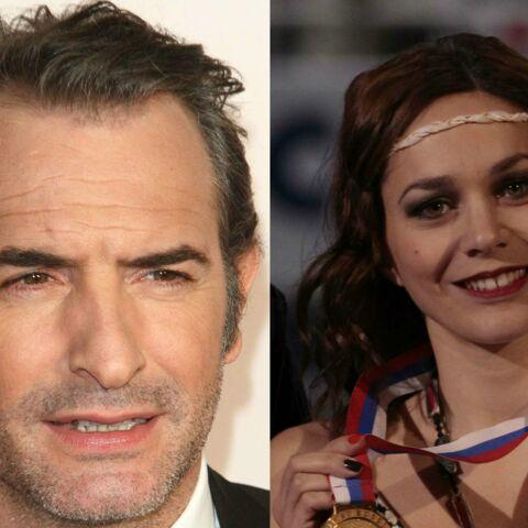 Jean Dujardin et Nathalie Péchalat officialisent dans Paris Match