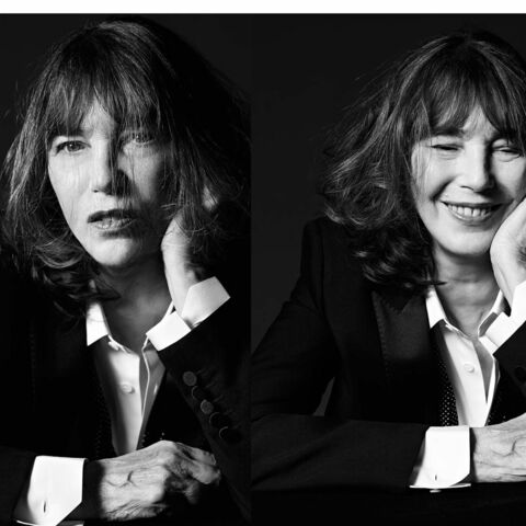 Jane Birkin dans le smoking Saint Laurent