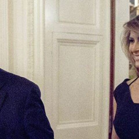 PHOTOS – Melania Trump: avec sa robe moulante et asymétrique, elle apporte son soutien à sa belle-fille Ivanka Trump