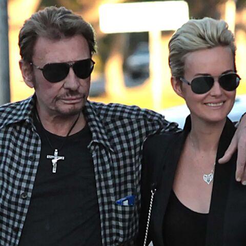 Johnny Hallyday: la famille réunie autour de Laura
