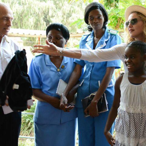 Madonna: comme une reine du Malawi