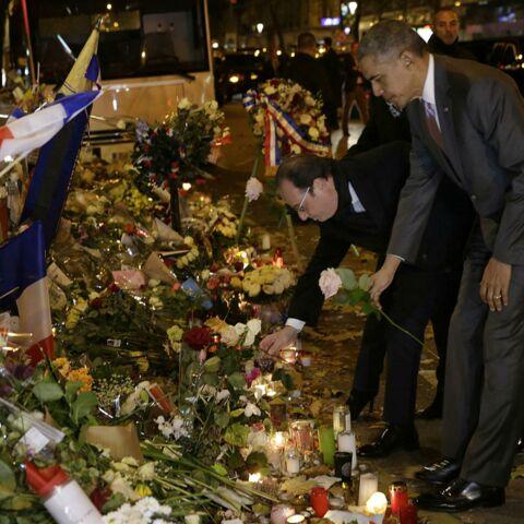 Barack Obama en visite surprise au Bataclan