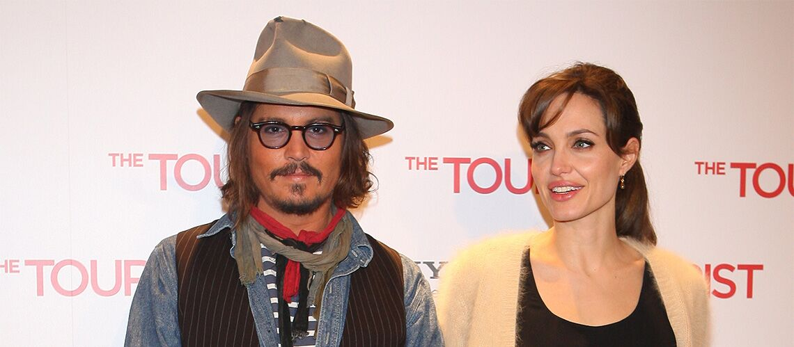 Angelina Jolie serait en couple avec Johnny Depp