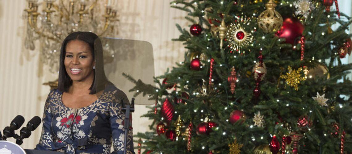 PHOTOS – Michelle Obama dévoile ses dernières décorations de Noël à la Maison-Blanche