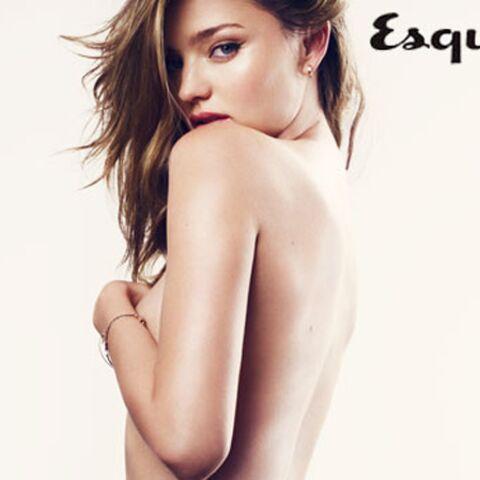 Photos- Miranda Kerr nue et aguicheuse pour Esquire