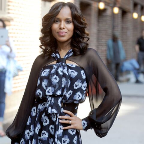 Kerry Washington attend son premier enfant