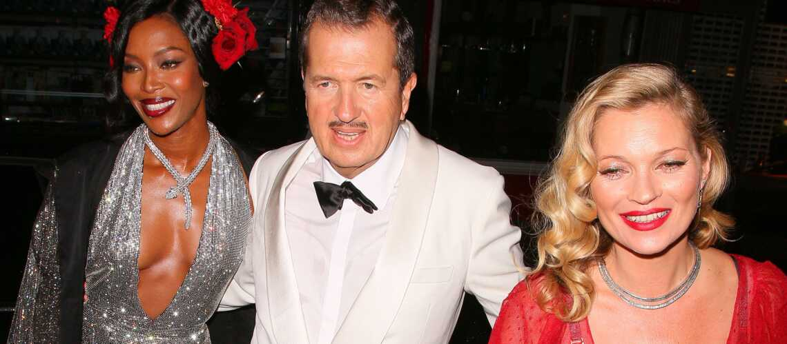 Kate Moss et Naomi Campbell célèbrent Mario Testino