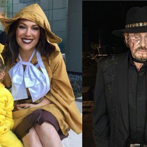 PHOTOS – Paris Hilton nue, Johnny et Laeticia en morts-vivants, Omar Sy et sa femme jouent la Belle et la Bête… Hot, insolites ou drôles, la semaine des stars en images