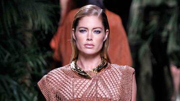 Paris Fashion Week – Wet look pour la Balmain Army