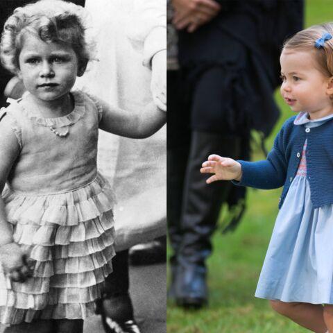 PHOTOS – La princesse Charlotte est le sosie d'Elisabeth II