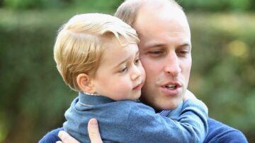 PHOTOS – William et le Prince George multiplient les câlins