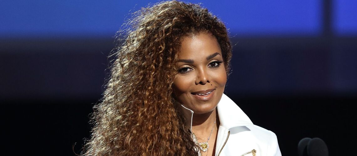 video janet jackson tr s enceinte 50 ans gala. Black Bedroom Furniture Sets. Home Design Ideas