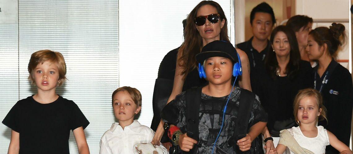 Angelina Jolie et Brad Pitt: leurs enfants très affectés par le divorce