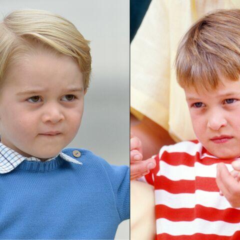 PHOTOS – Les prince William et George: tel père, tel fils