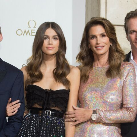 PHOTOS – Cindy Crawford en famille à Paris