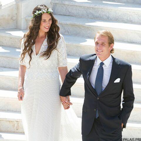 Photos – Andrea Casiraghi et Tatiana Santo Domingo se sont mariés
