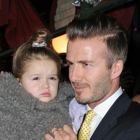Photos – David Beckham: Harper son amour