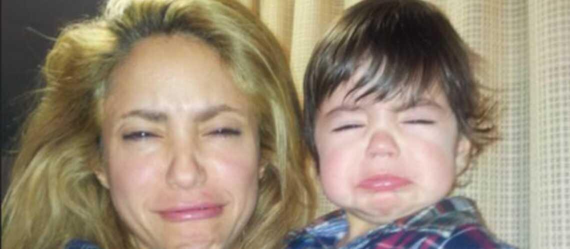 Photos – Shakira et Milan: leurs grimaces hilarantes