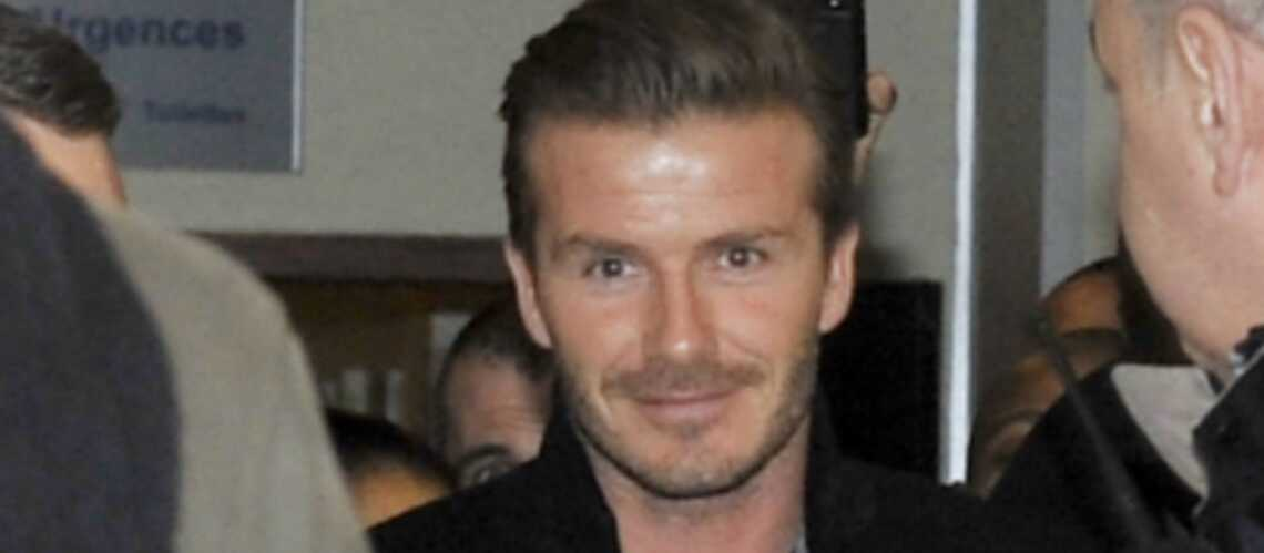 Photos- David Beckham est à Paris