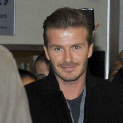 Photos- David Beckham est à Paris