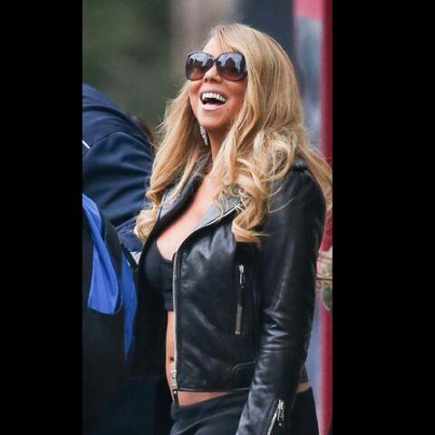 Mariah Carey, un rien l'habille!