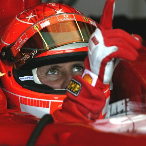 Michael Schumacher fait de «petits progrès»