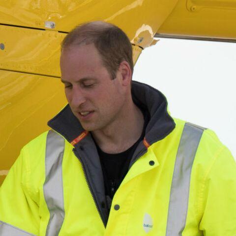 Coup dur pour le prince William, son dernier jour de pilote ambulancier s'achève avec un drame
