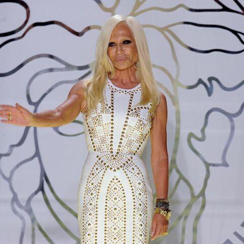 Donatella Versace sur les bancs de l'Université